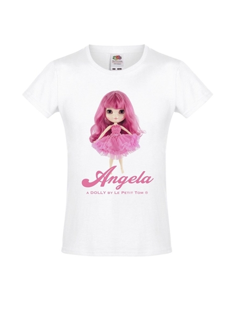 912a51592f0d Μπλούζα Angela doll pinkest pink – Le petit tom
